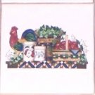 "Rooster Americana Ceramic Wall Tiles 4.25"" Kiln Fired Decor Sale"