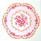 "Pink Rose Rosette Style Ceramic Tile Accent Back Splash One 4.25"" x 4.25"""