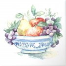 "Closeout Fruit Bowl Ceramic Tile 6"" x 6"""