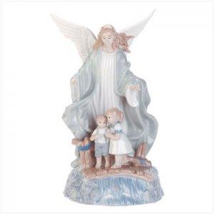 MUSICAL PORC. GUARDIAN ANGEL  Item #32183