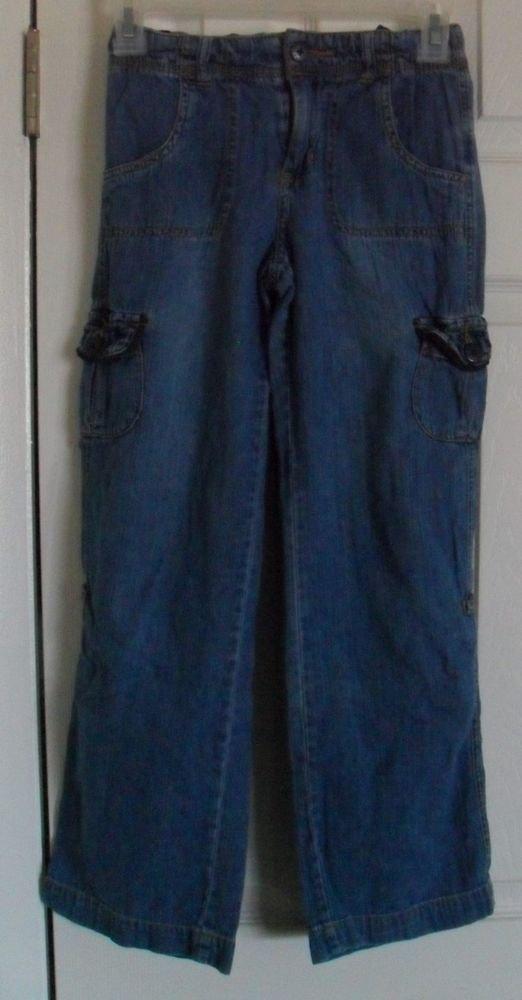 Place Children's Jeans size 10; 4 Button Pockets 2 Hand Pockets