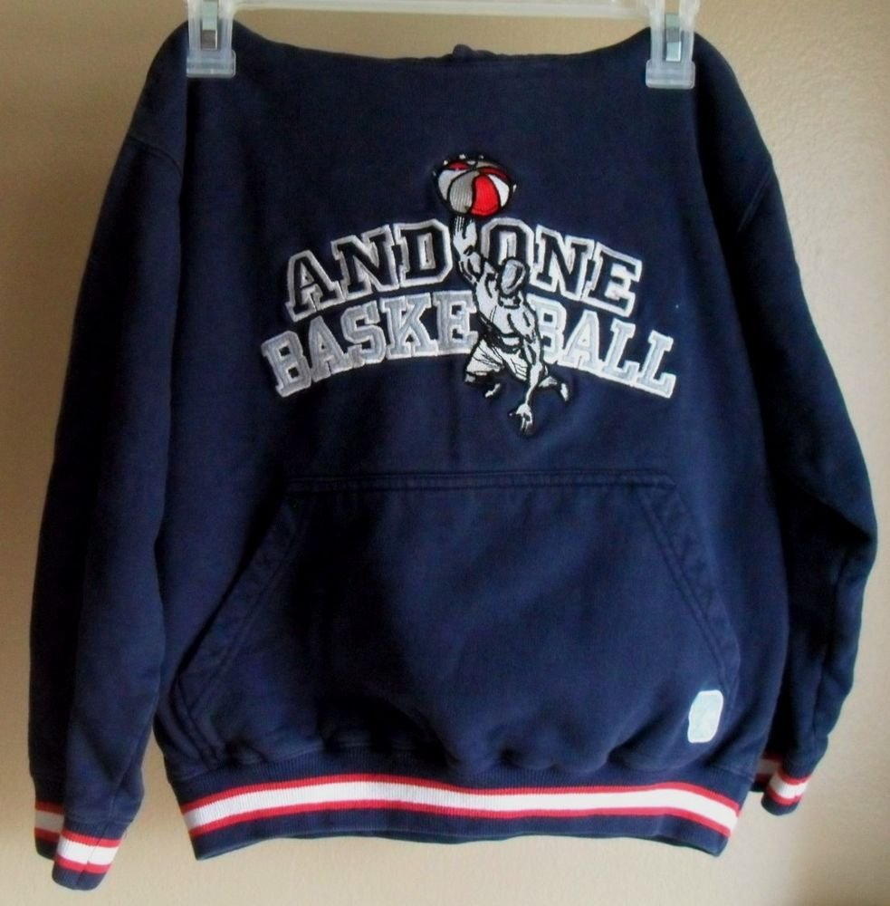 And One Basketball Children's Sweatshirt Hoodie 8 Small