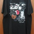 NWT Lifestyle Classics XL Motorcycle Black Red White T-Shirt SS