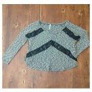 Promesa Soft Knit Lacey Sweater (S)