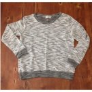 New! S&S Clothing Gray & White Light Knit Sweater (S)