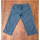 New York & Company Denim Crop Pants