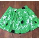 Fit to Go Green Cotton Full Mini Skirt (JrL)