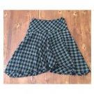 Allison Taylor B&W Plaid Full Skirt (8)