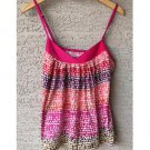 Express Colorful Spotted Print Tank (S)