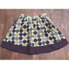 Forever Polka Dotted Cotton Full Skirt (S)