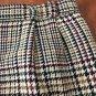 Vtg. 90s Haberdashery Wool Houndstooth Skirt (10)