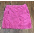Loft Bright Pink Cargo Mini Skirt (6)
