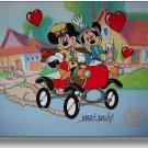 Disney Mickey Minnie Sericel Cel Hand Signed MARC DAVIS Nifty Nineties toontown