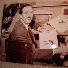Walt Disney Publicity Photo 1930's Working on Bambi at the Animation Desk