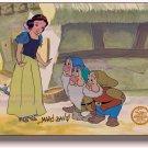 Snow White Sericel Cel Hand Signed Disney Certified Marc Davis 7 Seven Dwarfs