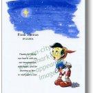 Frank Thomas Pinocchio Disney memorial 8 x 10 Color NEW Nine Old Men Speechless