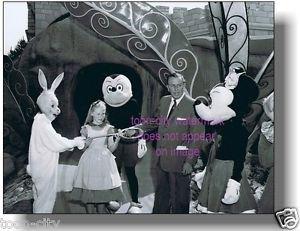Walt Disney Disneyland Alice Wonderland Opening day Attraction 1956 Mickey