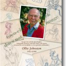 Ollie Johnston Disney Trade Ad tribute to his Passing Memorial Speechless