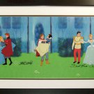 Royal Couples Cinderella Sleeping Beauty Snow White Signed Davis Woods Disney