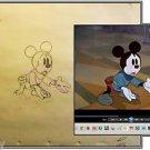 Walt Disney Vintage Original Production Drawing c1938 Brave Little Tailor COA