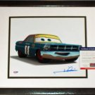 Mario Andretti #11 Disney PIXAR CARS Signed Photograph 8x10 NEW Frame PSA DNA