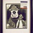 Song of the South original voice Brer Bear Nick Stewart 8x10 NEW Frame PSA DNA