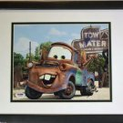 Mater Larry the Cable Guy Disney PIXAR CARS Signed Photograph 8x10  PSA DNA