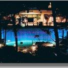 Disneyland Hotel Waterfalls Wonder Tower Now gone 8x10 1990s