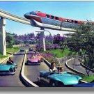 Disneyland Monorail Tomorrowland Autopia Newly Printed Color 8x10