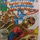 Captain America Spider-man Marvel Comic Book hand signed STAN LEE 1982 Feb 266