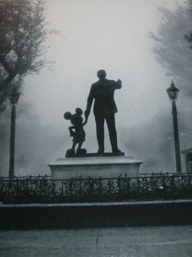 Walt Disney Mickey Mouse In The Fog Disneyland Partner