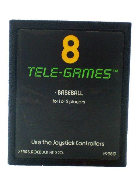 BASEBALL - TELE GAMES (Atari 2600) Cartridge Only
