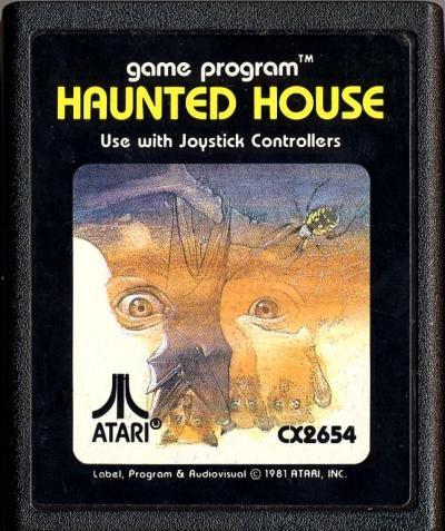 HAUNTED HOUSE (Atari 2600) Cartridge Only
