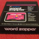 WORD ZAPPER  (Atari 2600) * Cartridge Only*