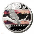 Kookaburra Silver Proof  $1 Coin 2012 Discover Australia Perth Mint  Limited Ed.