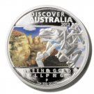 Bellfrog Silver Proof  $1 Coin  Discover Australia Perth Mint 2012 Limited Ed.