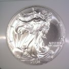 Silver American Eagle Bullion Coin 2004 NGC MS69 $1 One Full Ounce .999 fine