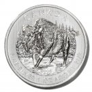 Canada Bison Silver $5 Coin 2013   1oz .9999 fine UNC Ltd Edition