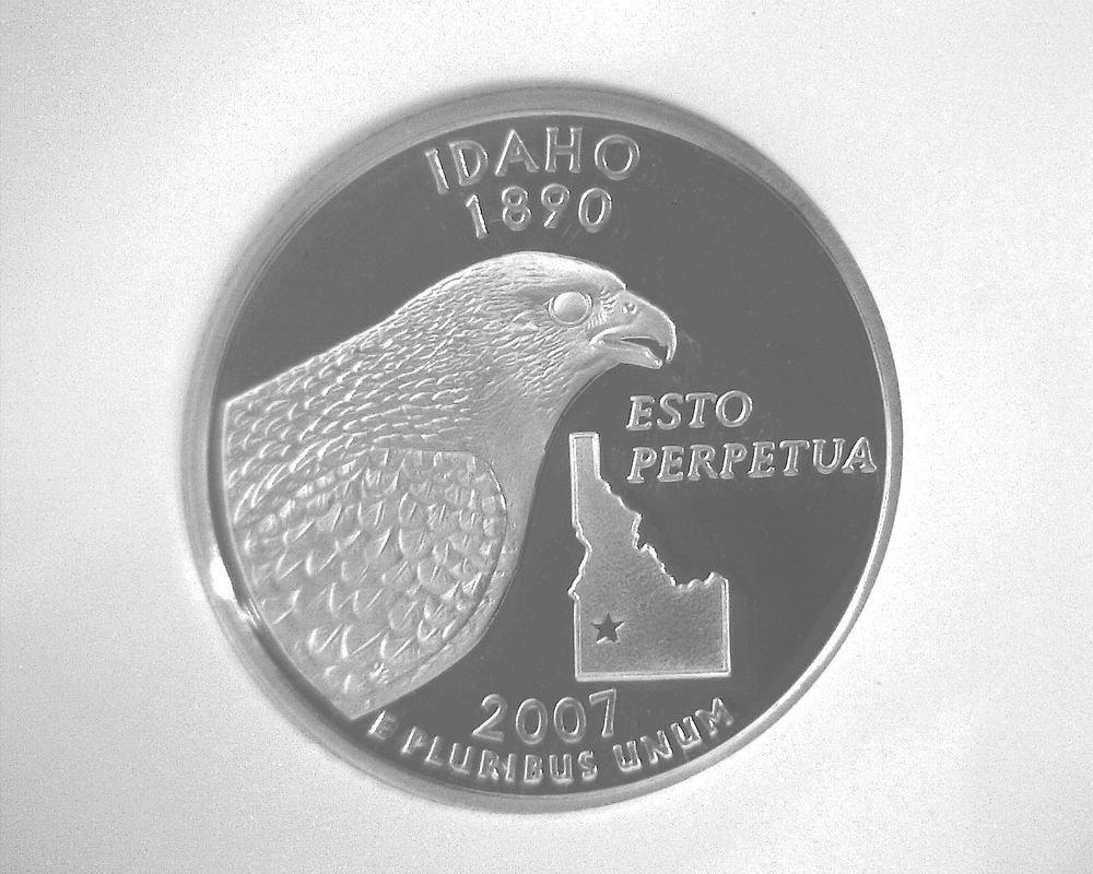 2007 S Silver Proof  Idaho State Quarter NGC PF70 Ultra Cameo Free US Ship