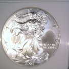 Silver American Eagle Bullion Coin 2001 NGC MS69 $1 One Full Ounce .999 fine
