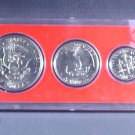 1973 US Coins Collector's Year Set 6 coins including Ike & Kennedy  Whitman