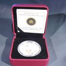 Canada Snowflake Coin $20 Silver Proof 2011 Swarovski  Crystal Hyacinth Ltd. Ed