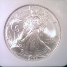 NGC MS69 US 2005 American Silver Eagle Bullion/Dollar    #D