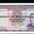 1967 Mozambique 500 Escudos Bank Note Pick#110 Crisp Uncirculated Mocamique