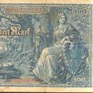 1910 Germany 100 mark note Pick#42   Colorful and Historic ! Wholesale !