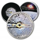 Chelyabinsk Meteorite Fragment in 2013 Cook Islands $5 Proof Coin COA  .5948 ASW