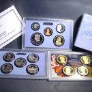 2010  Proof Set  14 coins State Quarters Presidential $s OGP COA Wholesale