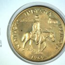 1969 Lincoln Heritage Trail Medal Kentucky Illinois Indiana BU Abe Riding Horse