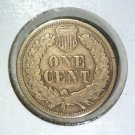 1863 Indian Head Cent Fine Details CLEANED
