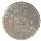1878 OM  Spain 10 centimos coin KM#675